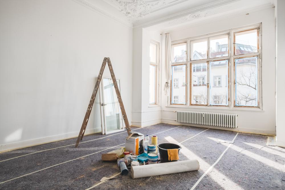 Totalrenovera ett rum – i vilken ordning?